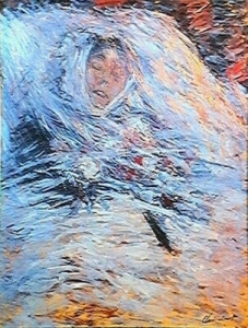 Claude Monet — Camille Monet sur son lit de mort
