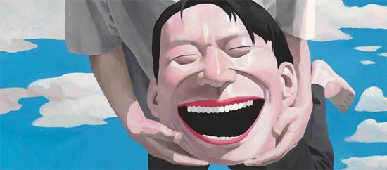 L'ombre du fou rire. Yue Minjun