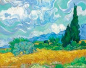 Vincent Van Gogh - Les blés jaunes